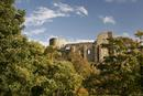 0390 The Mediaeval Castle of Barnard Castle, County Durham in Autumn